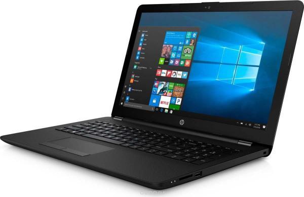"""Ноутбук 15"""" HP 15-bs156ur (3XY57EA), Core i3-5005U 2.0 4GB 500GB USB2.0/2*USB3.1 LAN WiFi BT HDMI камера SD 2.1кг W10 черный"""