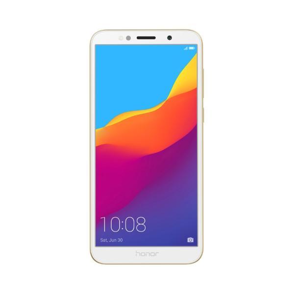 "Смартфон 2*sim Huawei Honor 7A, MTK 4*1.5ГГц 16GB/2GB, 5.45"" 1440*720, SD-micro/SDHC-micro, 4G/3G, BT, WiFi, G-sensor, 2 камеры 13/5Мпикс, Android 8.1, 3020мАч, 70.9*146.5*8.3мм 145г, золотистый"