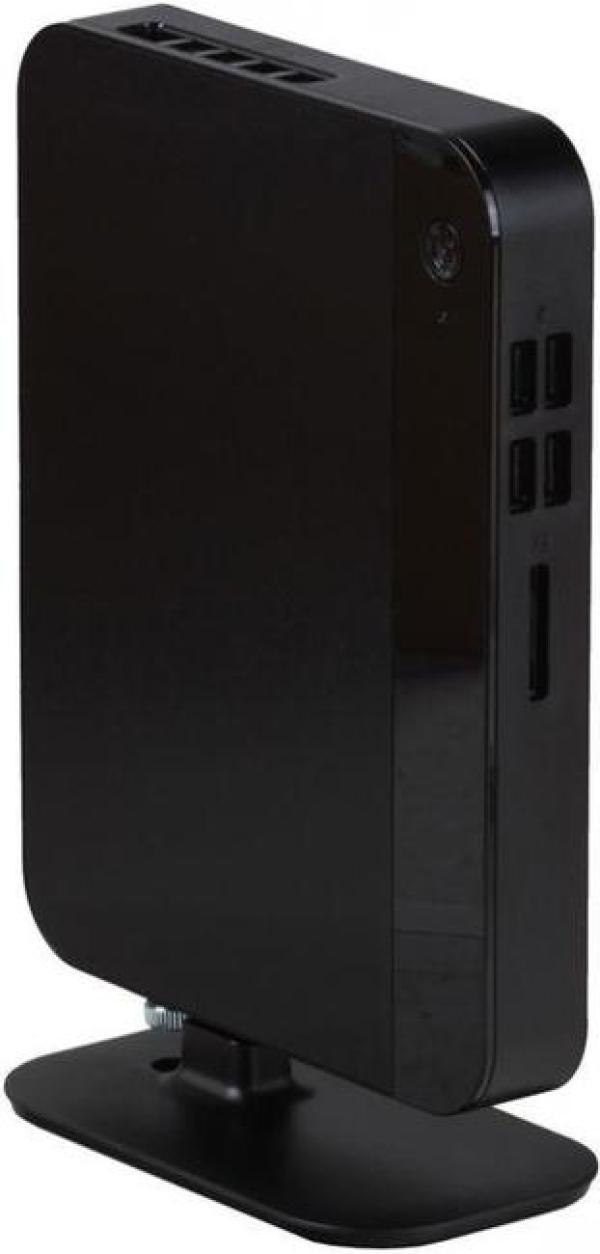 Компьютер мини неттоп РЕТ, Celeron J3160 1.6 Dual Core/ Звук Видео HDMI WiFi LAN1Gb USB3.0/ DDR3 4GB/ SSD 120GB/ SD/ 65Вт 2*USB2.0/2*USB3.0 Audio черный