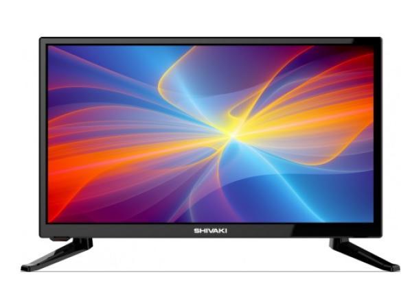 "ТВ LED 20"" Shivaki STV-20LED14, 1366*768, HDMI/RCA/SCART/VGA, SPDIF(Coaxial)/MiniJack, CI+/USB2.0, JPEG/MP3/MPEG4/MKV, DVB-T2/C/S2, 2*5Вт, черный"
