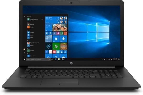 """Ноутбук 17"""" HP 17-ca0032ur (4KC75EA), AMD E2-9000e 1.5 4GB 128GB SSD 1600*900 Radeon R2 DVD-RW USB2.0/2*USB3.1 LAN WiFi BT HDMI камера SD 2.5кг W10 черный"""