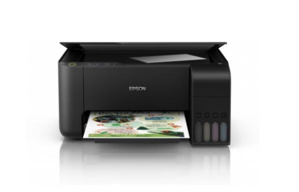МФУ струйное Epson L3100, A4, 5760*1440dpi, 33/15стр/мин, 4 цвета, копир 20стр/мин, сканер CIS, 600*1200dpi, USB2.0, СНПЧ