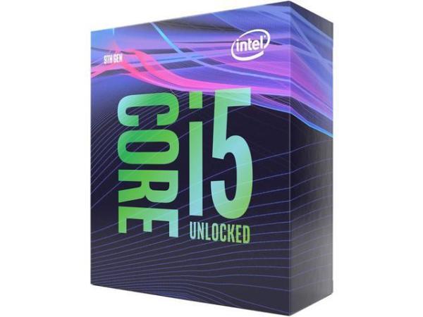 Процессор S1151v2 Intel Core i5-9600K 3.7ГГц, 6*256KB+9MB, 8ГТ/с, Coffee Lake 0.014мкм, Six Core, видео 1150МГц, 95Вт, BOX
