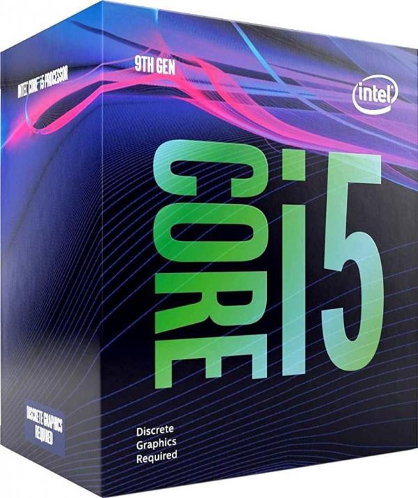 Процессор S1151v2 Intel Core i5-9400F 2.9ГГц, 6*256KB+9MB, 8ГТ/с, Coffee Lake 0.014мкм, Six Core, 65Вт, BOX