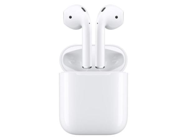 Наушники с микрофоном беспроводные BT вставные Apple AirPods MMEF2ZE/A