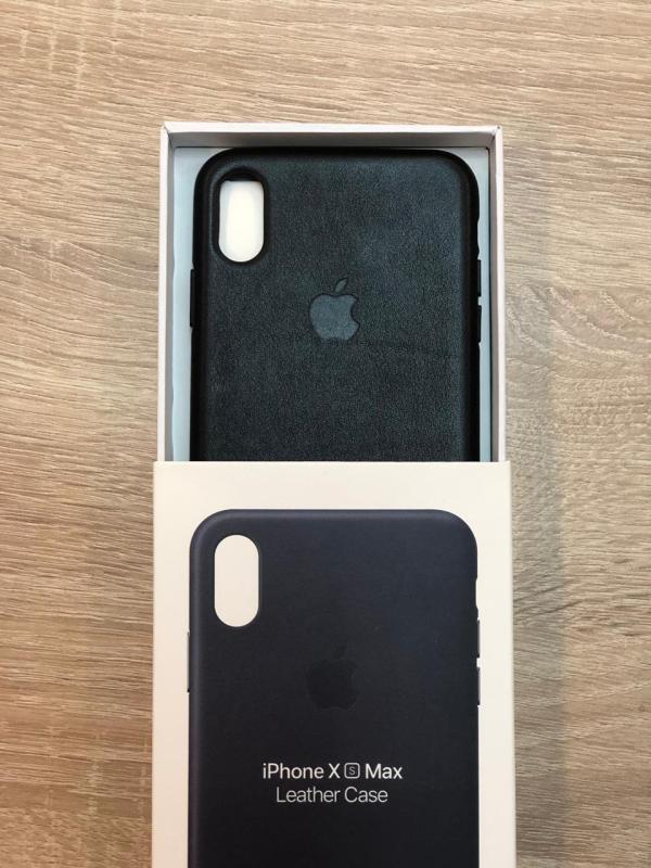 Продам кожаные чехлы отличного качества для iPhone XS Max - 1100