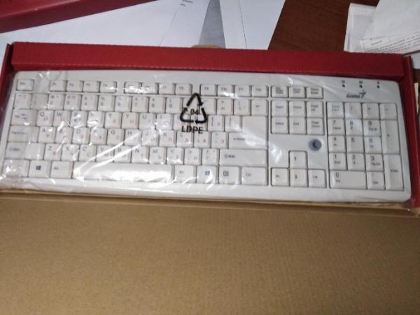 Клавиатура Genius KB-06(X/X2/XE) USB белая