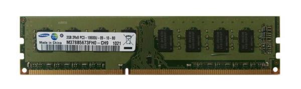 Оперативная память DIMM DDR3  2GB, 1333МГц (PC10600) Samsung M378B5673FH0-CH9, 1.5В