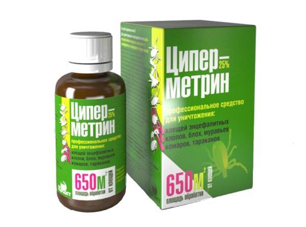 Инсектицид Циперметрин