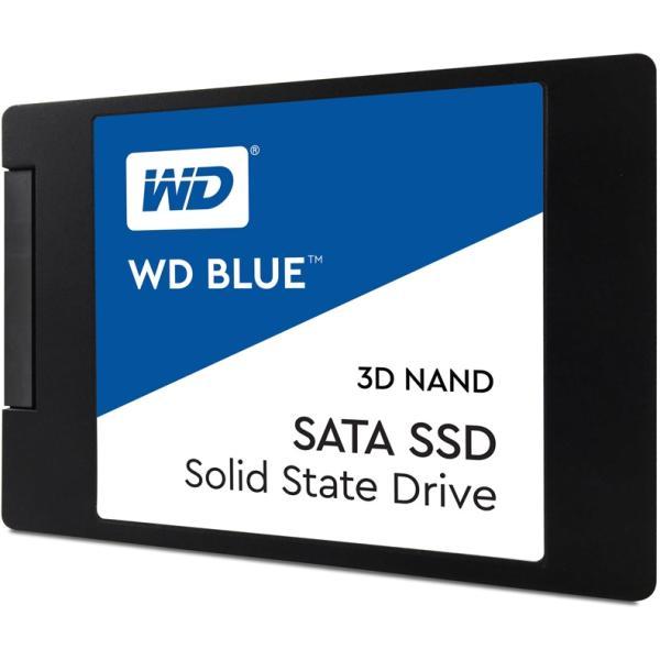 """Накопитель SSD 2.5"""" SATA 1TB WD Blue WDS100T2B0A, SATAIII, TLC, 560/530MB/s"""