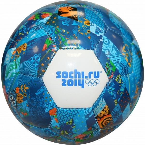 Облегченный футбольный мяч Сочи 2014 - Спортмастер в Воронеже.